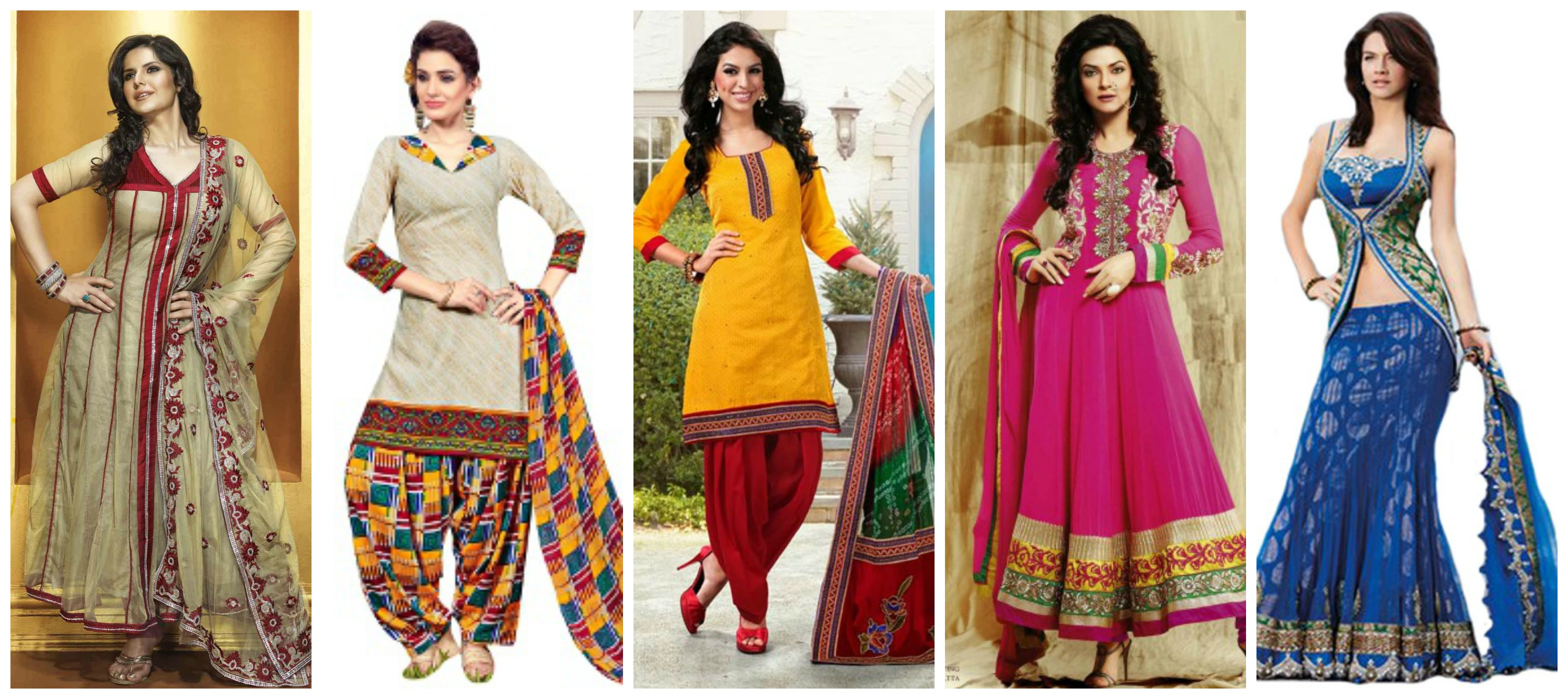 Salwar suits the most comfortable and elegant ethnic wear for Online suit builder