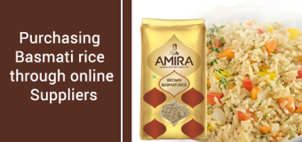 Purchasing Basmati Rice Through Online Suppliers