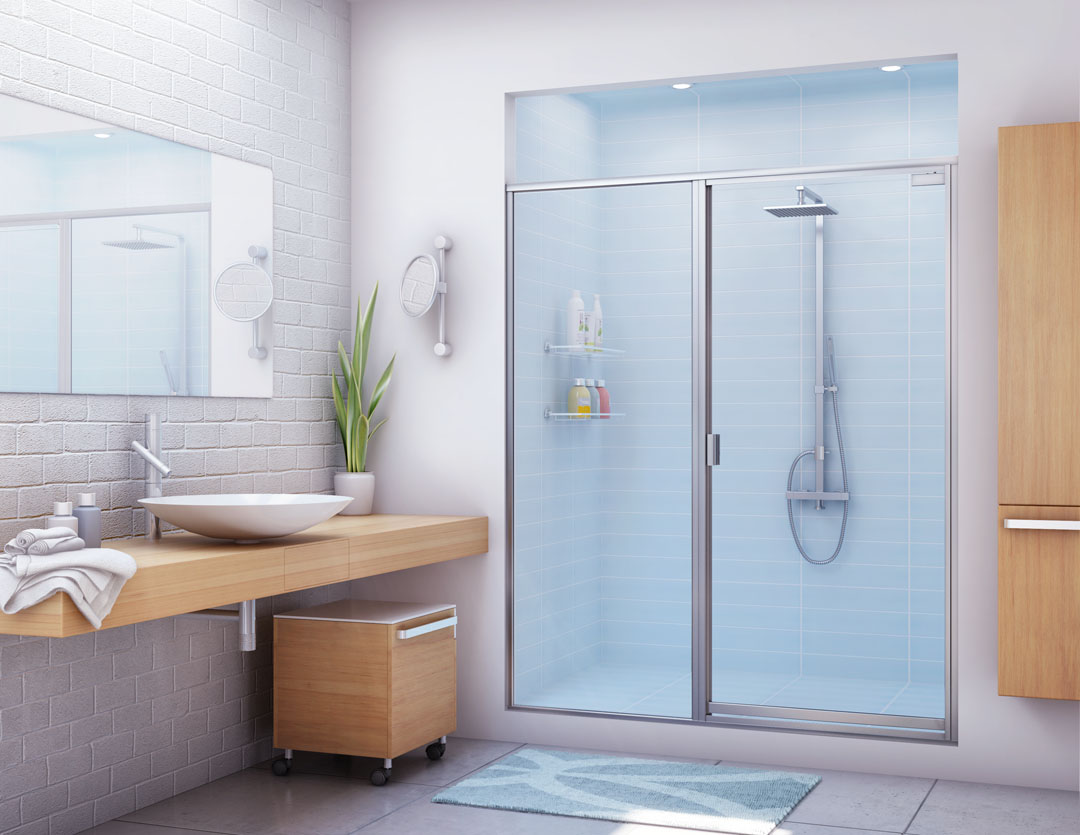 5 Best Inexpensive Shower Door Ideas