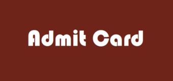 CAT Admit Card to be released on October 18, 2017